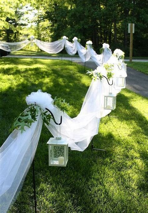 25 Intimate Backyard Outdoor Wedding Ideas   Deer Pearl