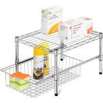 Honey Can Do Adjustable Shelf with Under Cabinet Organizer