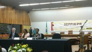 Ministra Nilma da Seppir toma posse em Brasília