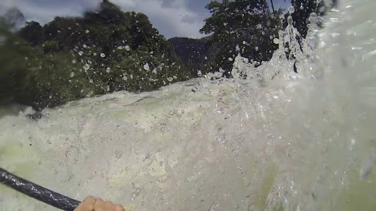 Max Eberl (GER) Entry for Best Line (Rapid), Rabbit Hole, Asahan River