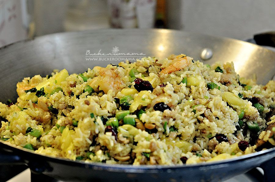 1.30, Pineapple fried rice  - What we had for lunch AND dinner on Sat.  Too lazy to cook twice in one day!
