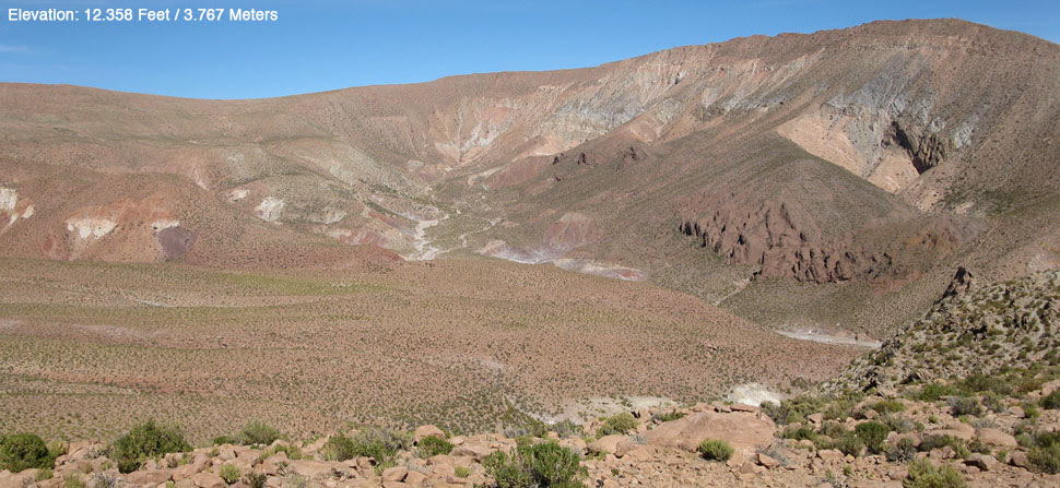 painted hills, Andes