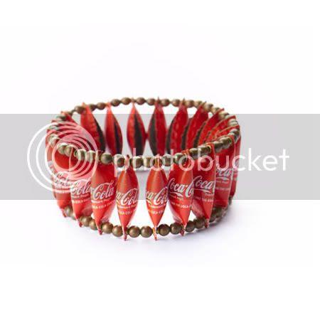Coca-Cola Cap Bracelet