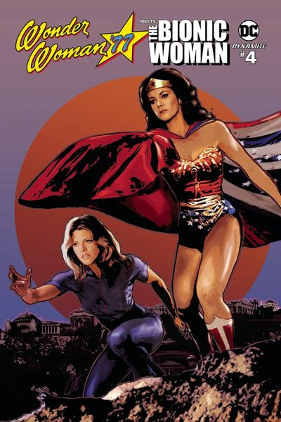 Wonder Woman 77 Bionic Woman #4 (of 6) (Cover A - Staggs)