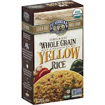 Lundberg Family Farms Whole Grain Yellow Rice (6 - 6 oz bags)