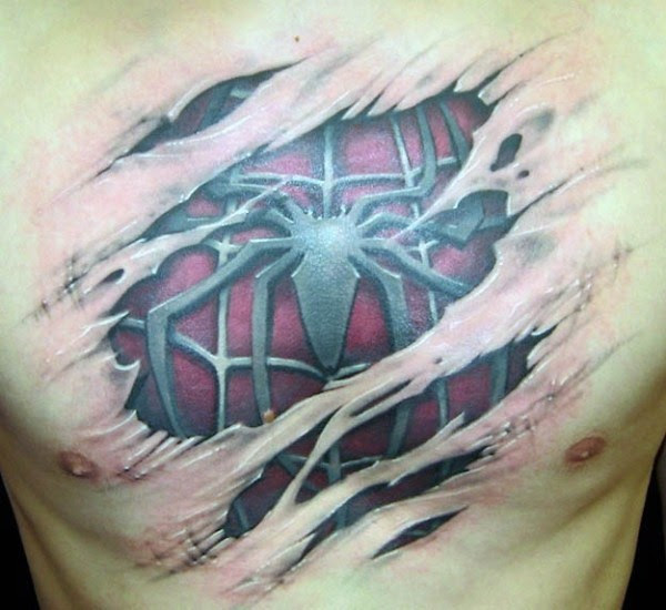33 terrivelmente Hiper Tatuagens Realistas (19 fotos)