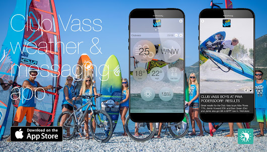 CLUB VASS WEATHER APP LAUNCH - Windsurf Magazine