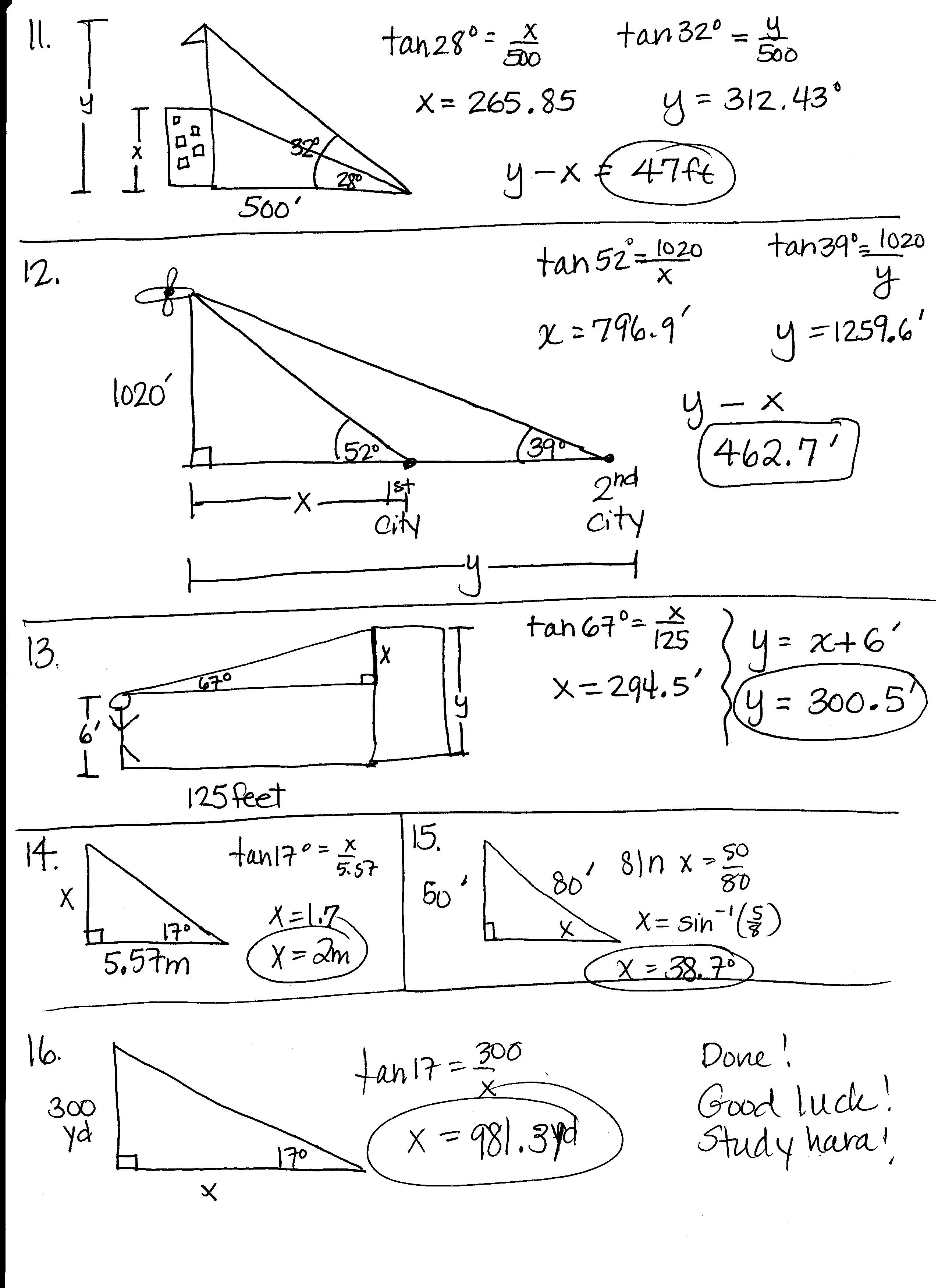 Pre-Calculus Honors - Mrs. Higgins