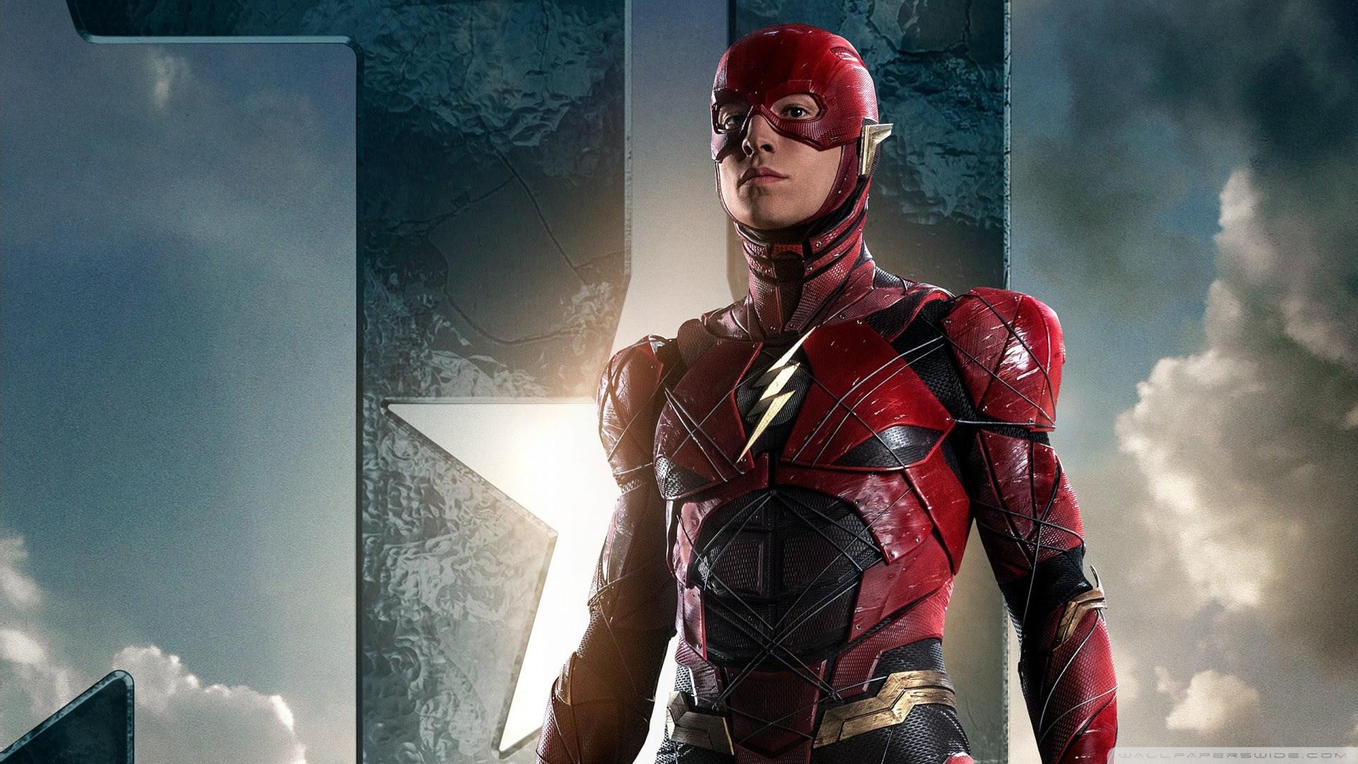 The Flash In Justice League Ultra Hd Desktop Background Wallpaper