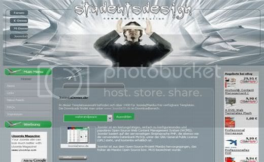 Joomla Design Tutorials Theme Template