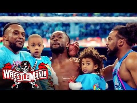 Kofi Kingston's WrestleMania excitement presented by Cricket Wireless: WrestleMania 37 Kickoff