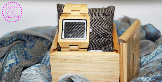 Fashion Refined ~ JORD Wood Watches - Refined and Polished