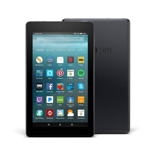 """Amazon Fire 7 - Wi-Fi - 8 GB - Black - with Special Offers - 7"""""""