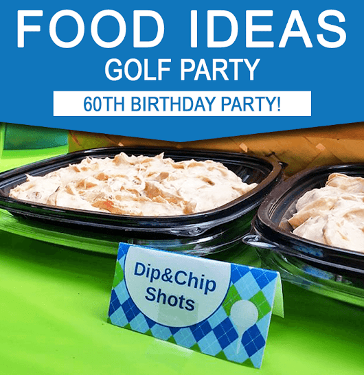 Golf Party Food Ideas | Golf Birthday Party Inspiration