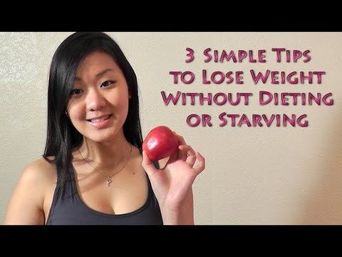 How to Lose Weight Without Diet with Three Simple Tips