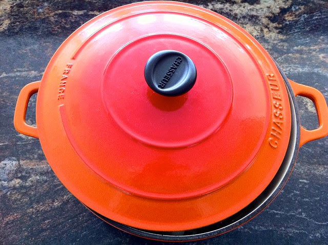 Dutch Oven Partially Covered