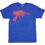 Ames Bros Flash Ray Gun Vintage T-Shirt - Blue