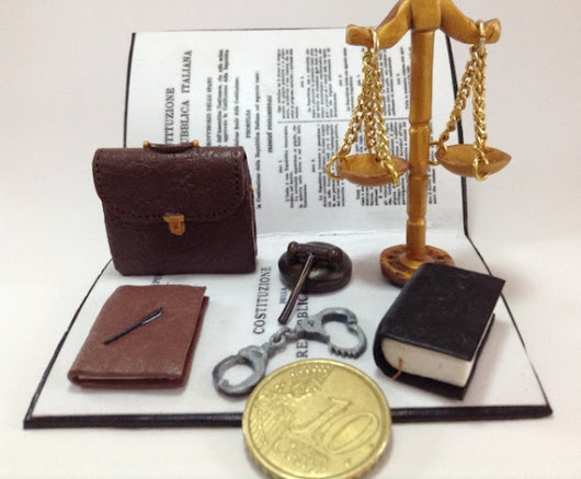 Personalized gift for lawyer attorney. Office di WizzyArtCreation