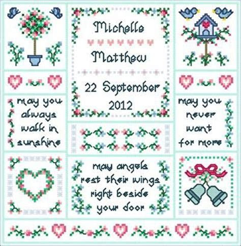 Wedding Angels   cross stitch   Wedding cross stitch