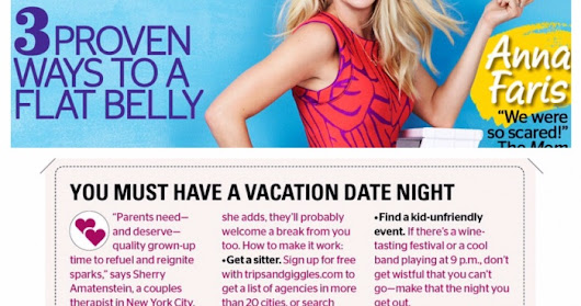 As Seen in Redbook! The Trips + Giggles Babysitter Directory