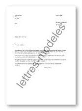 Exemple Lettre De Remerciement Financement | Covering Letter Example