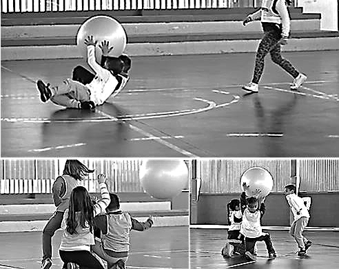 Cada una de las posiciones y movimientos surgen del juego y comentarios del alumnado