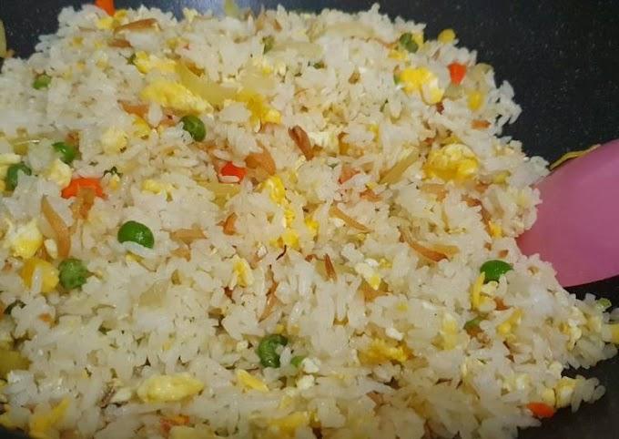 Resep Nasi goreng teri Cita Rasa Tinggi