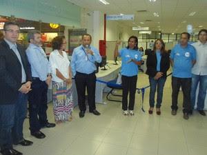 Central tem como objetivo garantir às pessoas surdas serviços de interpretação (Foto: Sandro Ribeiro / TV Grande Rio)
