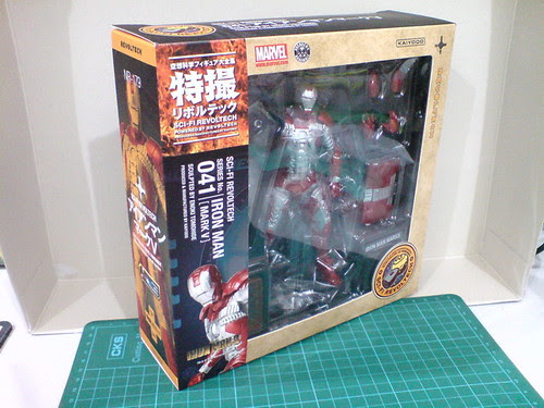 Ngee Khiong Ex: Sci-fi Revoltech Iron Man Mark V Part 1