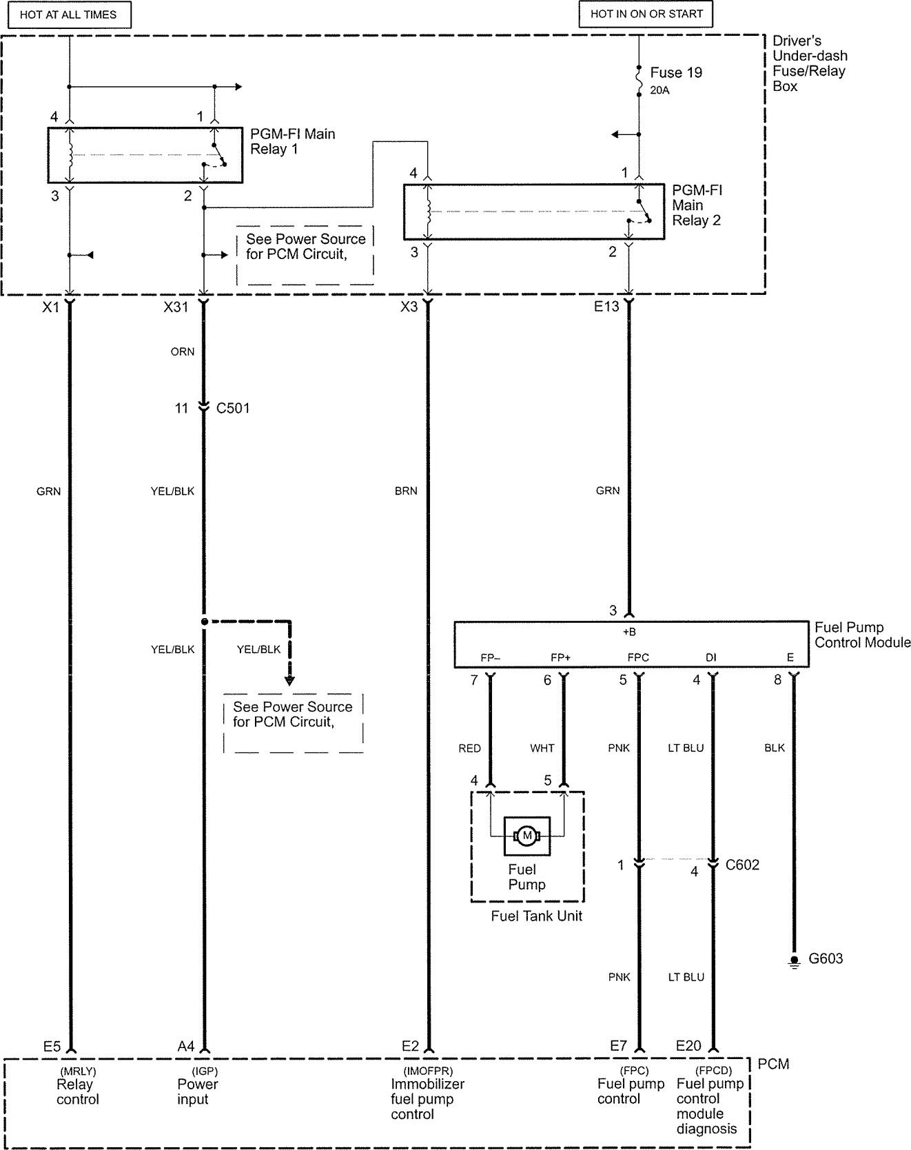 Wrg 2570 05 Chrysler Pacifica Fuse Box Location