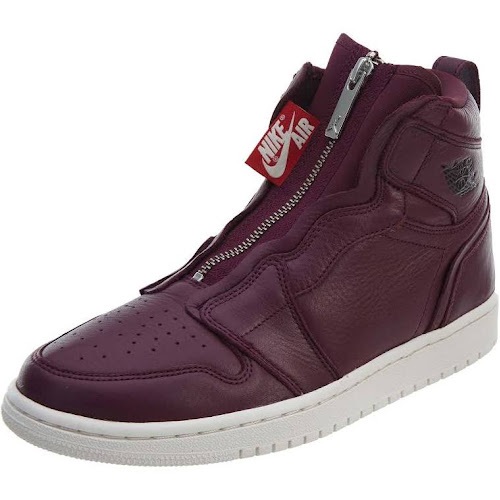 4ccacb0b514b6f Womens Jordan Air 1 High Zip. Rated 4.7 out of 5 stars star star star star  star half. 8 reviews. Color  Bordeaux Black-Phantom