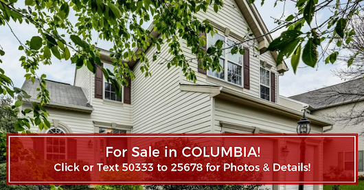OPEN HOUSE! 6256 APRIL BROOK CIRCLE, COLUMBIA, MD