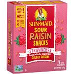 Sun-Maid Sour Raisin Strawberry Snacks - 7ct/4.9oz