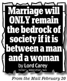 From the Mail February 20
