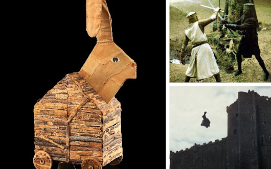 Up for auction: Holy Grail of Monty Python treasures - including a £10,000 Trojan rabbit