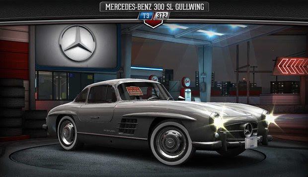 CSR Classic لعبة سيارات