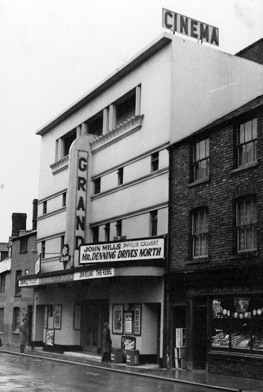 The Grand Theatre could become two shops and 12 flats