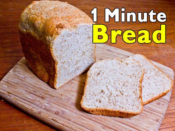 Easy Bread Machine Recipe | Five Gallon Ideas