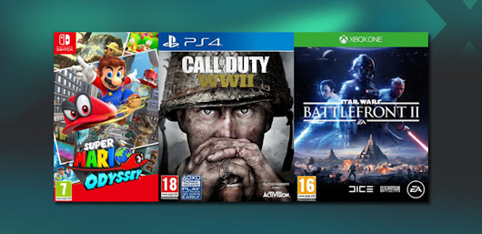 Get up to £40 Trade or £36 in CASH for Zelda, Need for Speed, Assassins Creed and others on PlayStation 4, Xbox One and Switch.