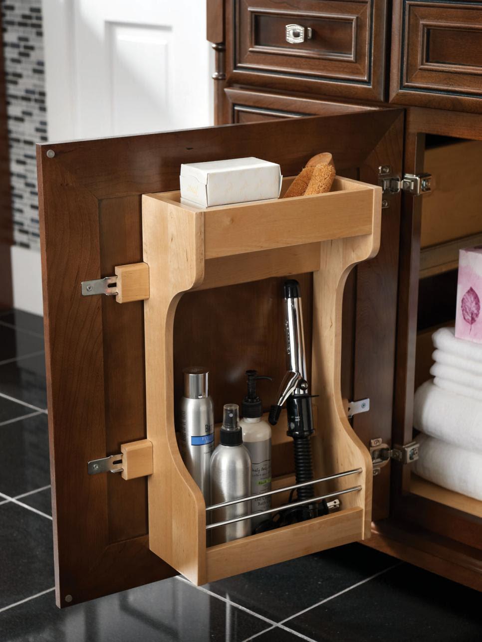 Big Ideas for Small Bathroom Storage | DIY