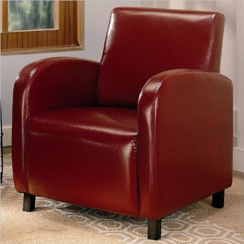 Coaster 900335 Vinyl Accent Chair Review - Best Recliners