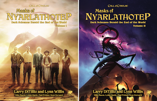 The new Masks of Nyarlahotep