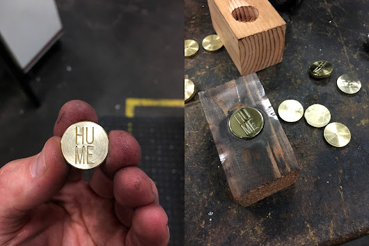 Custom Steel Hand Stamps for High End Furniture