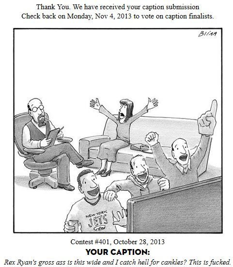 Shitty New Yorker Cartoon Captions