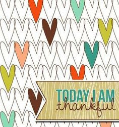 Today I am thankful quote via Living Life at www.Facebook.com/KimmberlyFox.39