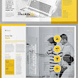 18 Professional and Creative Brochure Templates | Graphics Design | Design Blog