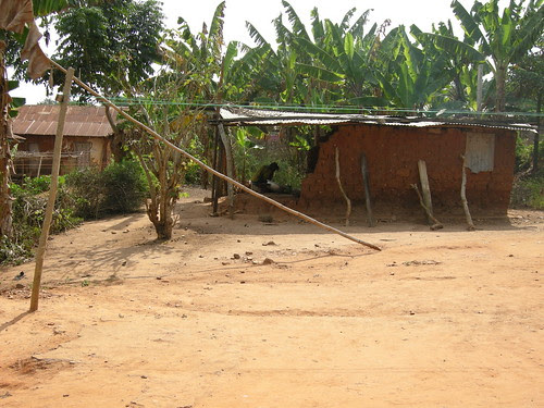 abutia mud hut