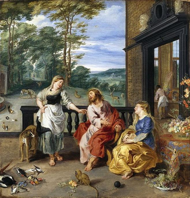 Ficheiro:Christ in the House of Martha and Mary 1628 Jan Bruegel2 and Rubens.jpg