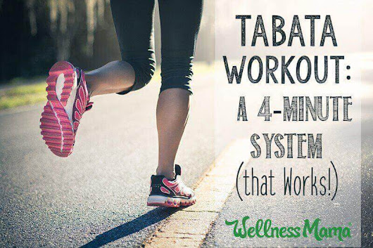 Tabata Workout: The Fast 4-Minute System That Works | Wellness Mama