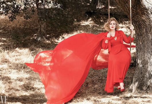 Adele In a Modest Outfit On Vanity Fair's Upcoming Issue